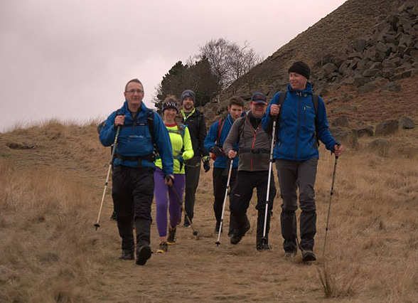 Rob Morley completes Derbyshire Scouts Four Inns Challenge!