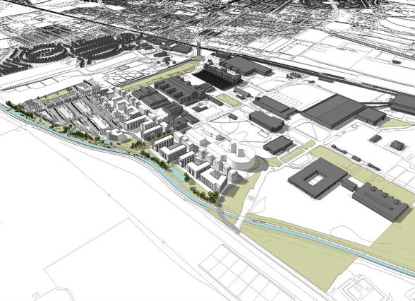 Start Announced at Boots Enterprise Zone, Nottingham